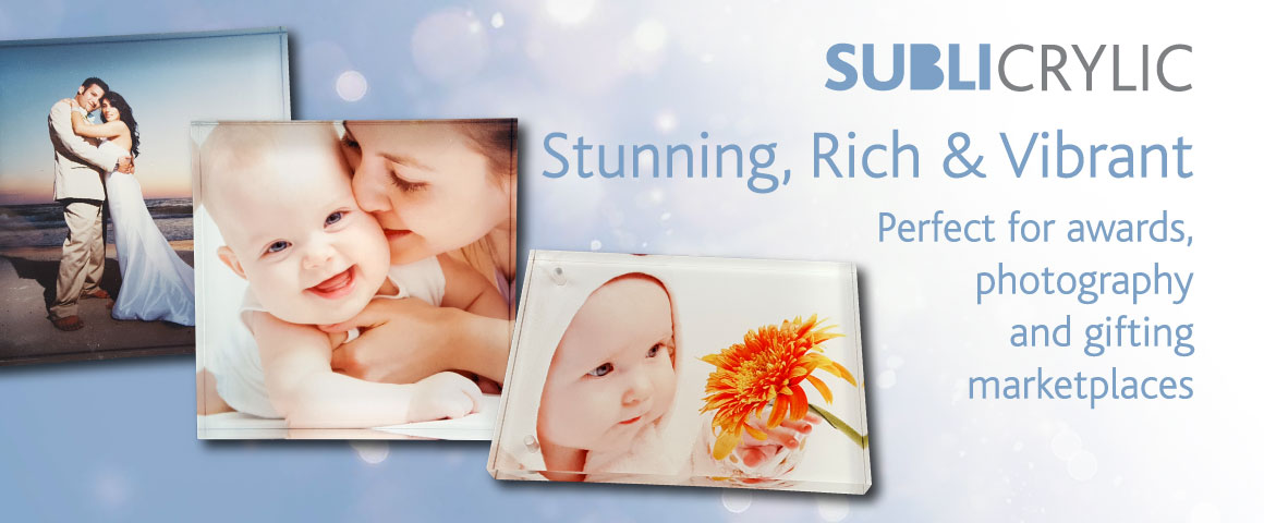 Sublicrylic™ Superior Sublimation Ready Acrylic Blanks